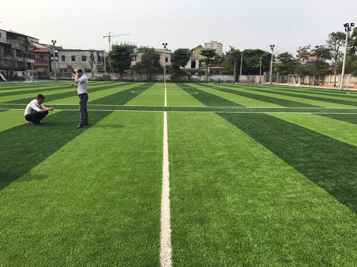 Báo giá cỏ nhân tạo sân bóng đá 1