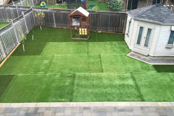3) Tự thi công lắp đặt sân cỏ nhân tạo 1