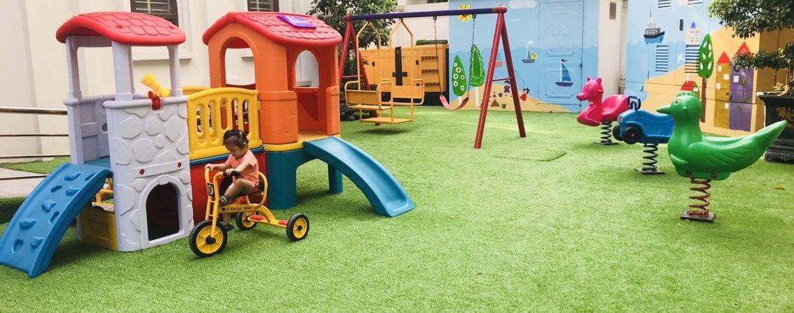 Dự án cụm sân chơi trường mầm non Hà Nội Center Kids