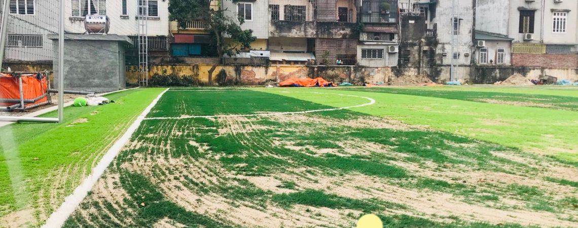 Dự án sân bóng đá cỏ nhân tạo cho trường Học viện Quốc phòng, Hà Nội