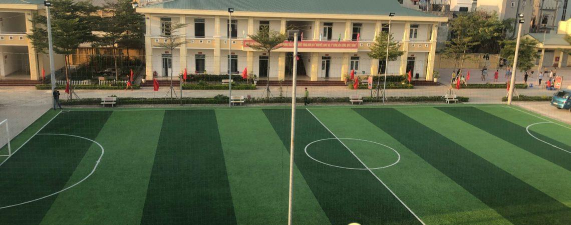Dự án sân bóng đá cỏ nhân tạo cho trường Học viện Hậu Cần, Hà Nội