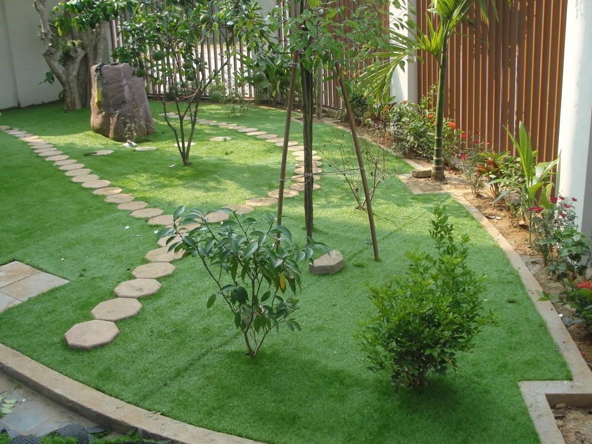 Có nên dùng cỏ sân vườn nhân tạo hay không? 1