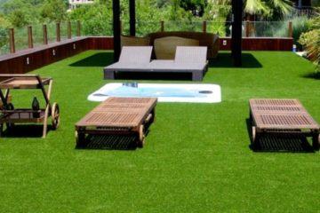 Có nên lựa chọn cỏ nhân tạo sân vườn thay thế cỏ tự nhiên?