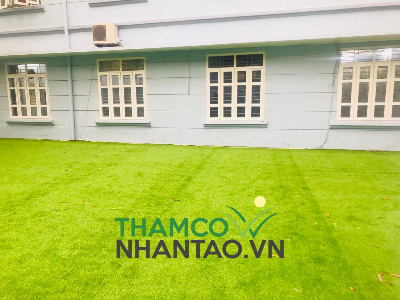 Một vài hình ảnh của dự án sân vườn trường tiểu học Thanh Lương quận Hai Bà Trưng, Hà Nội: 2