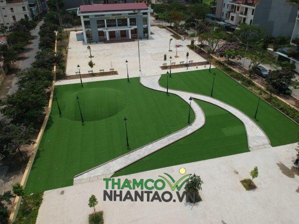 Dự án sân vườn cỏ nhân tạo tại Trung tâm văn hóa thể thao Kinh Bắc, Bắc Ninh