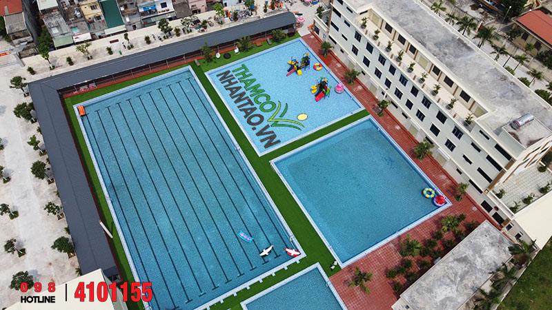Một vài hình ảnh của dự án Trung tâm thể dục thể thao Vũ Thư, Thái Bình: 4