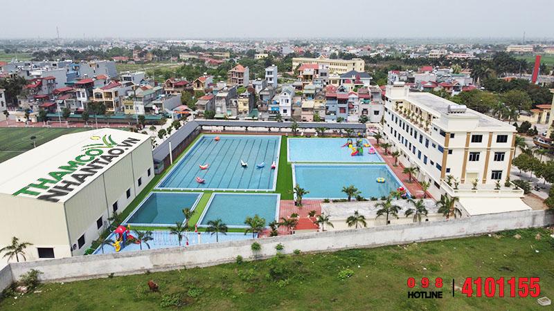 Một vài hình ảnh của dự án Trung tâm thể dục thể thao Vũ Thư, Thái Bình: 5