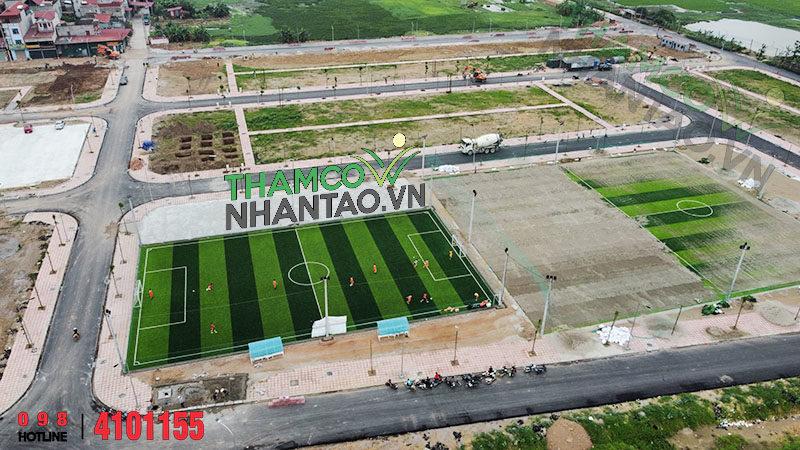 Dự án sân bóng đá cỏ nhân tạo khu tái định cư huyện Yên Phong, Bắc Ninh