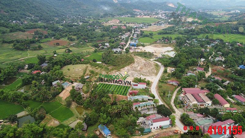 Một vài hình ảnh của dự án sân bóng đá cỏ nhân tạo tại Văn Bàn, Lào Cai: 5