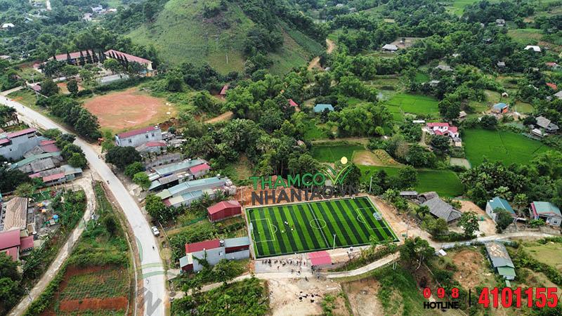 Một vài hình ảnh của dự án sân bóng đá cỏ nhân tạo tại Văn Bàn, Lào Cai: 6