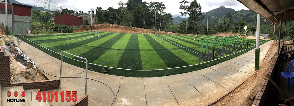 Một vài hình ảnh của dự án sân bóng đá cỏ nhân tạo tại Văn Bàn, Lào Cai: 7